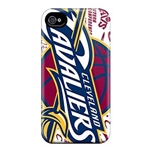 Iphone 4/4s AWC13476vvKs Support Personal Customs Beautiful Cleveland Cavaliers Skin High Quality Hard Cell-phone Case -AnnaDubois