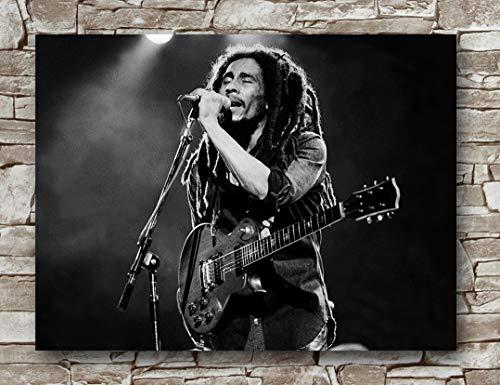 Huawuque Bob Marley Brighton Poster Standard Size | 18-Inches by 24-Inches | Bob Marley Brighton Posters Wall Poster Print