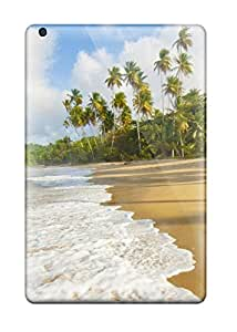 6898900J76942366 High-end Case Cover Protector For Ipad Mini 2(the Seashore Beach Palms Nature Other)