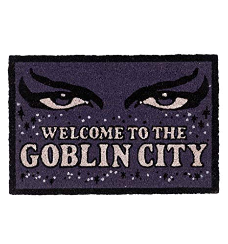 TruffleShuffle Labyrinth Welcome to The Goblin City Door Mat