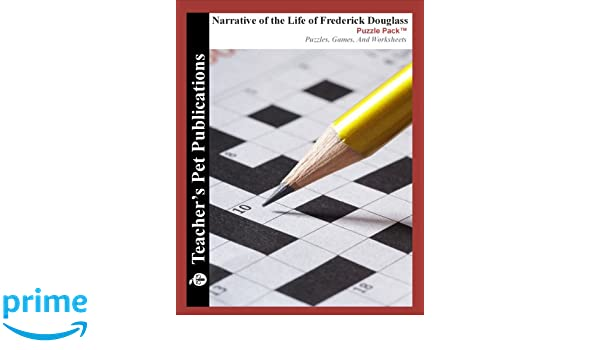 Narrative of the Life of Frederick Douglass Puzzle Pack - Teacher ...
