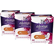 Always Discreet, Incontinence Liners, Very Light, Long Length, 132 Count