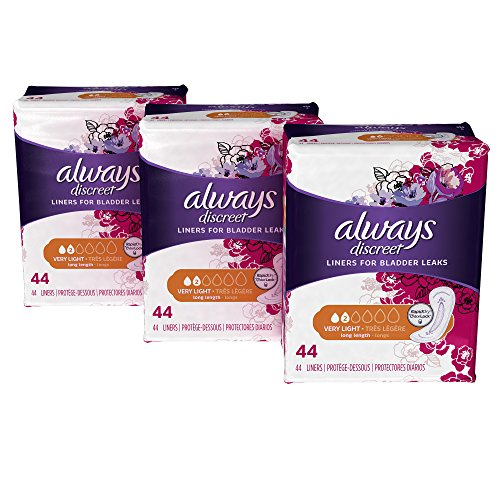 Always Discreet Incontinence Liners Length product image