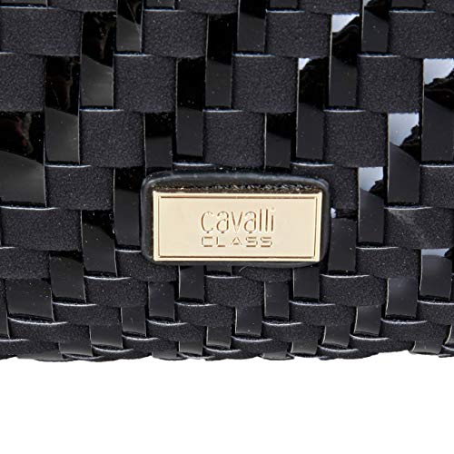 Designer Shoulder Bag Genuine Cavalli Women Class Bag Black Shoulder cFpYqT