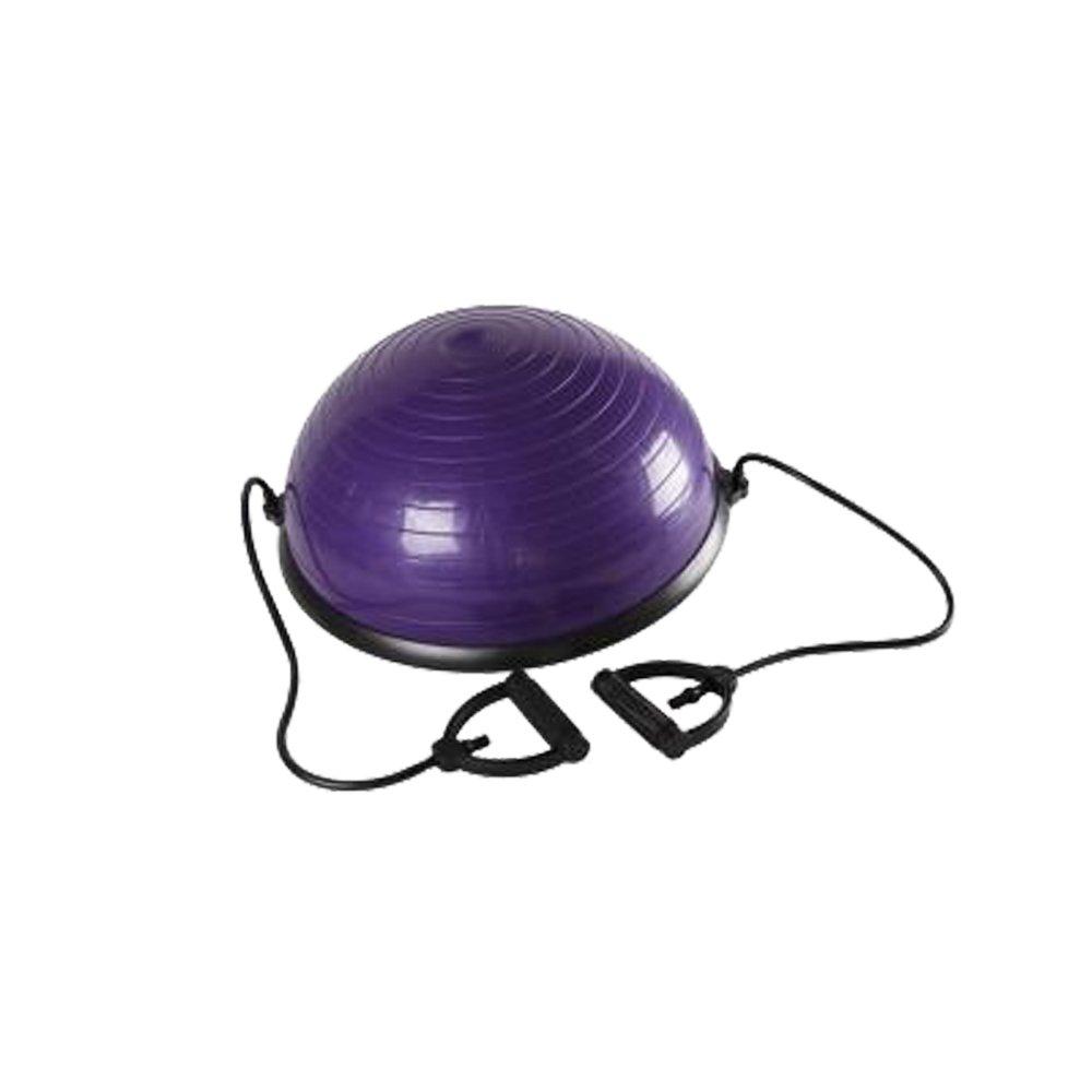 Lovinland Balance Hemisphere Yoga Half Ball Balance Trainer Core Exercise Ball for Gym Office Home Purple by Lovinland (Image #2)