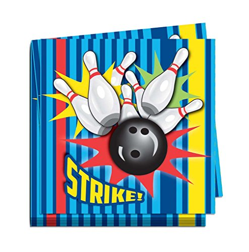 Bowling Party Ware Separates - Bowling Luncheon Napkins