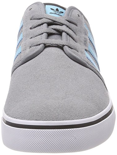 adidas Seeley Mens Trainers Grey / Turquoise / Black iKfVgTCy