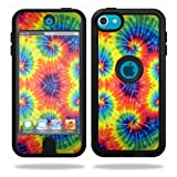 ipod 5 case tie dye - MightySkins Skin Compatible with OtterBox Defender Apple iPod Touch 5G 5th Generation Case Tie Dye 2