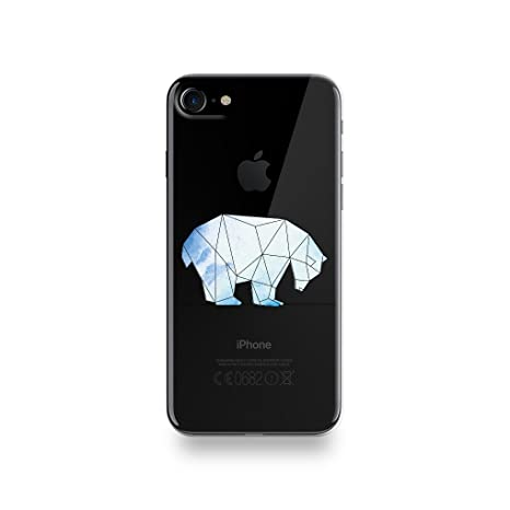 coque iphone 8 silicone geometrique