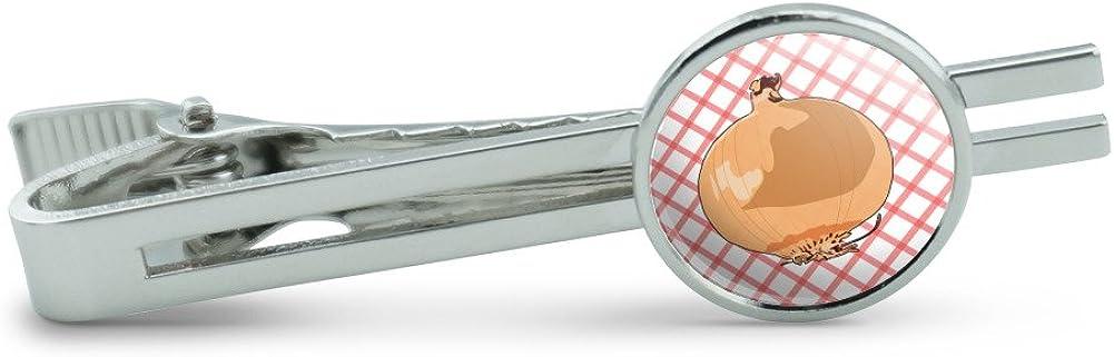 Onion Mens Tie Clip Tack Bar