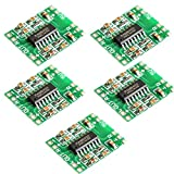CHENBO(TM)5PCS PAM8403 module Super board 2 * 3W Class D digital amplifier board efficient 2.5 to 5V USB power