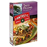 Fantastic World Foods Taco Filling, Quick Vegetarian Mix, Vegan, 4.4-Ounce Boxes (Pack of 12)