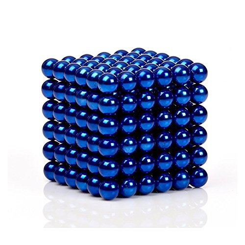 MagneBalls - 222 pcs 5MM Magnetic Ball Set for Office Stress Relief |Desk Sculpture Toy Perfect for Crafts,Jewelry and Education|Magnetized Fidget Cube Provides Relief for Anxiety,ADHD,Autism, Boredom