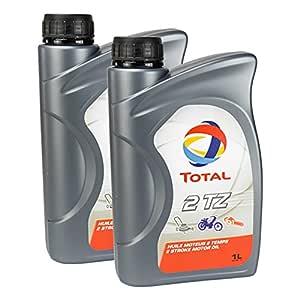 2 x Aceite total 2 TZ 1L: Amazon.es: Coche y moto