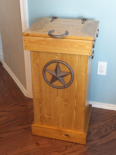 Wood Trash Can, Storage Bin