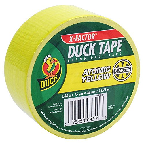 1.88 in. x 15 yds. X-Factor Yellow Duct Tape