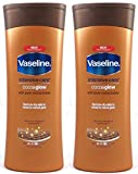 Vaseline Intensive Care Cocoa Glow Body Lotion With Pure Cocoa Butter, 13.5 Oz