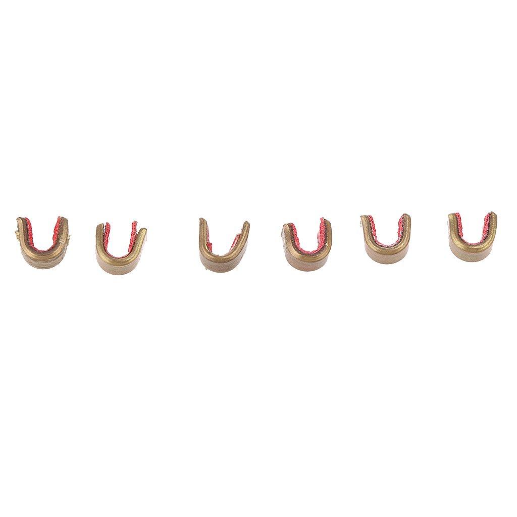 Nocking Point MagiDeal Bogenschie/ßen 6 St/ück Nockpunkte 10 bis 16 Str/änge