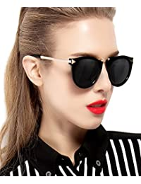 Vintage Fashion Round Arrow Style Polarized Sunglasses...