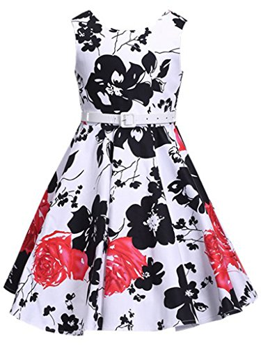 Special Occassion Dresses For Girls (Happy Rose Girl's Dress Vintage Party Floral)