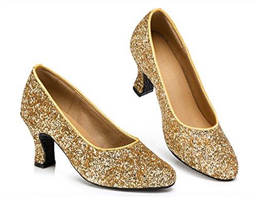 Heel e Jazz Donna Gold Moderno MGM Joymod 7cm qnBEO0