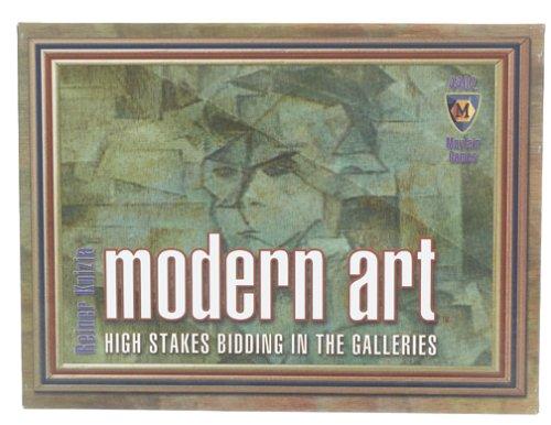 modern art card game - 2