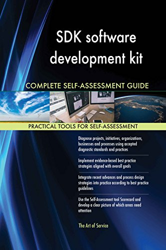 SDK software development kit Toolkit: best-practice templates, step-by-step work plans and maturity diagnostics