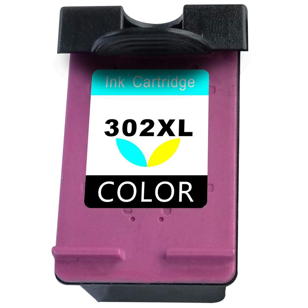 Asonway Remanufacturado HP 302 302XL Cartuchos de Tinta(1 Tricolor) Compatiable con HP DeskJet 3636 3637 3630 2130 2132 1110 OfficeJet 3833 3831 4655 ...