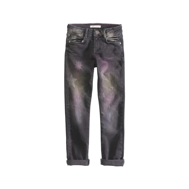 Cakewalk Girls Mädchen Hose Jeans DANA Sterne in Grey wash denim