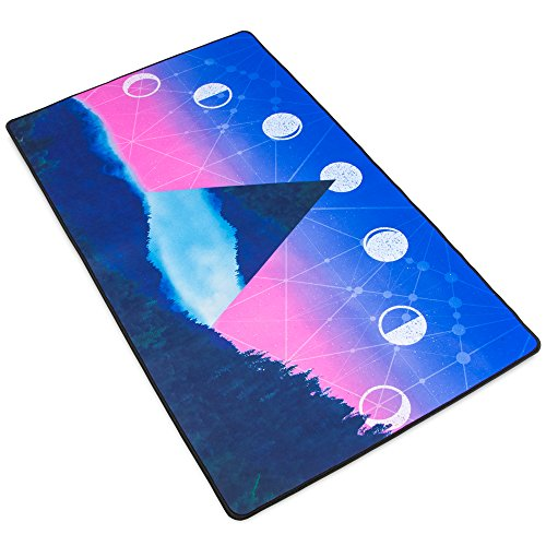 "51PMKdhAA0L - Stratagem Control Zone Customs Designed XL Microfiber Gaming Deskpad - Moon Phases XL - 27.5"" x 15.5"""