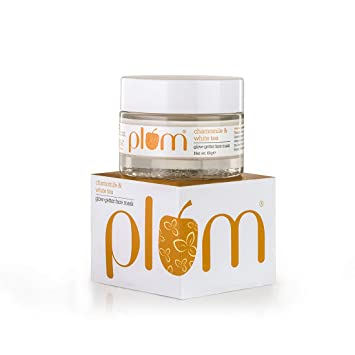 60g Plum White Tea Glow-getter Care Vegan Combination Normal And Mask Chamomile For Skin amp; Face