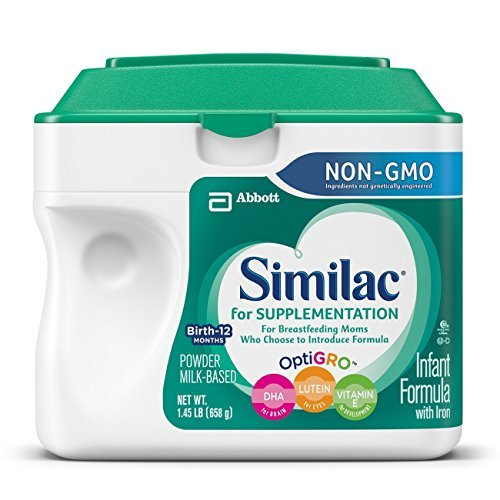 Abbott Nutrition Similac For Supplementation Non-GMO Infa...