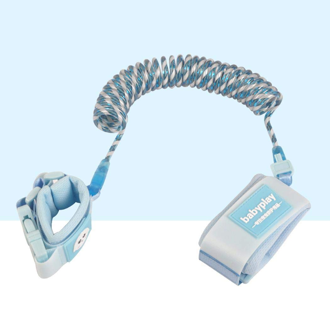 Meharbour Kids Safety Harness Children Leash Wrist Link Anti-Lost Traction Rope Harnesses & Leashes by Meharbour (Image #3)