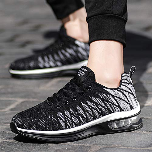 Athltique 6 Femmes Chaussures Air Sports Gris Gym De Padcod Lgres Cushion Baskets Unisexe Uk Fitness 5 Support Pour Hommes Jogging Course Y8xFn6TWn