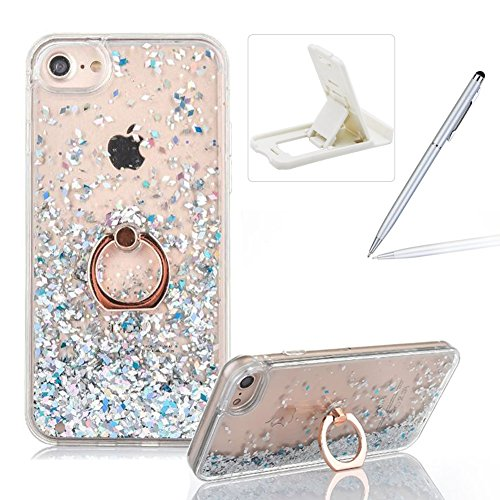 360 Degree Hard Plastic Case for iPhone 7 Plus (Silver) - 2