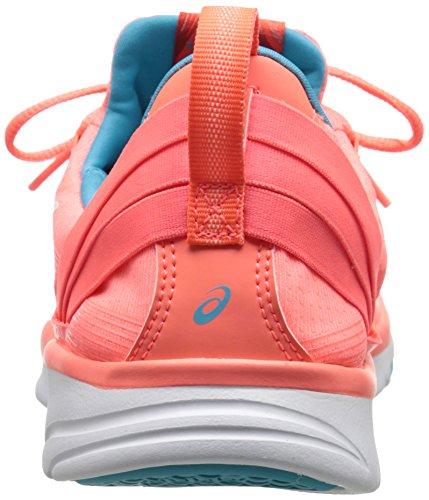 US White M Women's Fit Fitness 2 Sana Blue Scuba Coral 7 Flash ASICS Shoe Gel 6OqOz