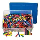 ETA hand2mind Plastic Cuisenaire Rods Classroom Basics Kit