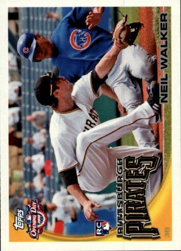 2010 Topps Opening Day Baseball Rookie Card #212 Neil Walker Near Mint/Mint