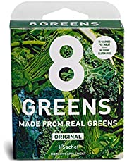 8Greens Effervescent Super Greens Dietary Supplement - 8 Essential Healthy Real Greens in One