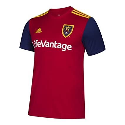 adidas Real Salt Lake Women s Jersey Home Replica Soccer Jersey (Large) 472f2fa1ce