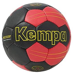 Kempa Ball Accedo Basic Profile, Schwarz/Rot/Fluo Gelb, 1, 200186306