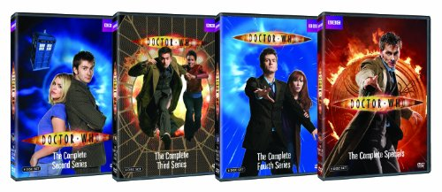 Doctor Who: The David Tennant Collection Bundle by BBC Home Entertainment
