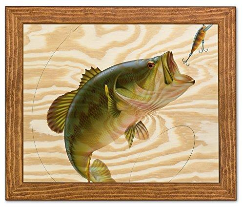 Framed Wood Wall Art/Decorative Sign 13