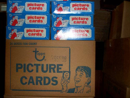 1986 1987 1988 1989 1990 1991 TOPPS Un-opened Baseball Vending boxes(3000 Cards) ()