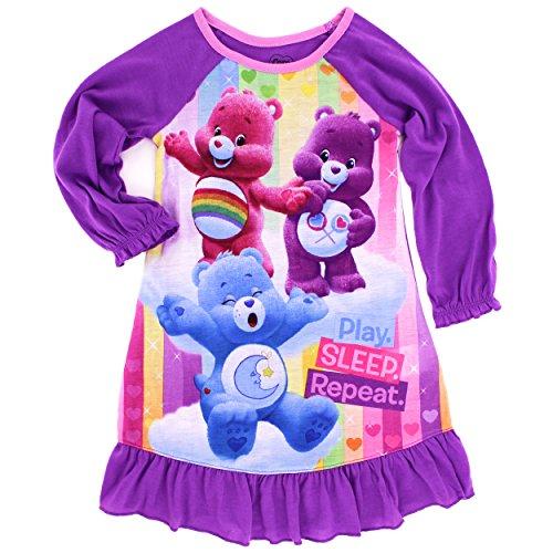 care-bears-toddler-girls-sleep-gown-purple-2t