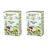 Celebration Herbals Organic Plantain Leaf Tea Caffeine Free (Pack of 2)