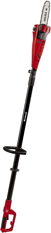 Einhell Expert GE-EC 750 T - Motosierra telescópica (750W, longitud de corte 180 mm, velocidad de corte 11 m/s, espada y cadena de calidad OREGON) (ref.4501210)