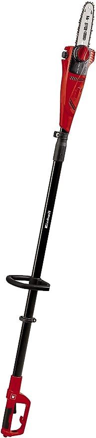 Einhell Expert GE-EC 750 T - Motosierra telescópica (750W, longitud de corte 180 mm, velocidad d...