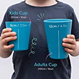 Bobo&Boo Bamboo Kids Cups Set of 4 Drinking Cups