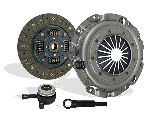 Clutch Kit With Slave Works With Mitsubishi Lancer Outlander Es Se De Gts 2008-2015 2.0L l4 GAS DOHC Naturally Aspirated ()